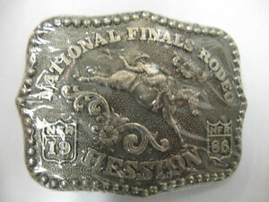 1986 Hesston Mini Collectors Belt Buckle