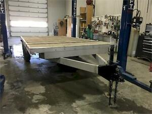 REMORQUE JO-HE - PLATE FORME DECK OVER 8X16' 2013
