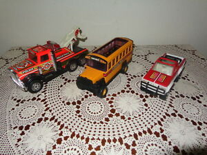 Assortment of Buddy L Vehicles