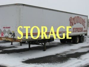 1988 ROUSSY  STORAGE BOX DRY VAN 48'