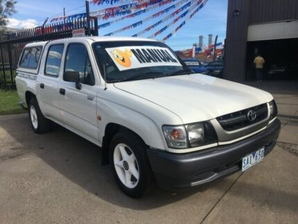 2003 Toyota Hilux RZN149R 5 Speed Manual Brooklyn Brimbank Area Preview