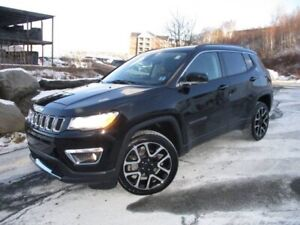 2018 Jeep Compass Limited 4X4 (PANO ROOF, HEATED LEATHER & WHEEL