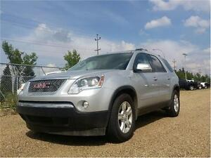 2011 GMC ACADIA SLE2 100% FINANCING APPROVAL GURANTEED NOW!!!