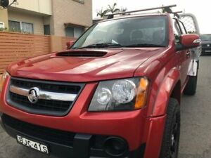 2009 Holden Colorado RC MY09 LX (4x4) Burgundy 5 Speed Manual Crew Cab Chassis Waratah Newcastle Area Preview