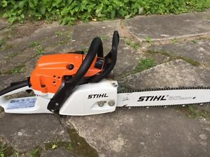 Stihl ms261 with carrying case