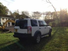 Land Rover Discovery Commercial with fitted back seat