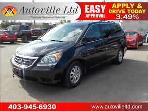 2009 Honda Odyssey EX-L leather roof 8 passenger low km