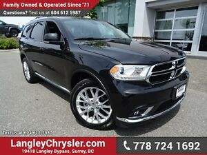 "2016 Dodge Durango Limited W/ REAR DVD PLAYER, 8.4"" TOUCHSCRE..."