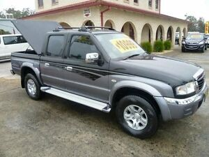 2005 Mazda B2500 Bravo SDX (4x4) Black & Silver 5 Speed Manual Dual Cab Pick-up South Nowra Nowra-Bomaderry Preview
