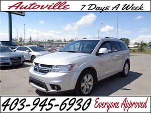 2011 Dodge Journey AWD  R/T LEATHER EVERYONE APPROVED
