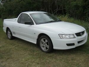 2007 Holden Commodore VZ SV Z White Utility West Ballina Ballina Area Preview