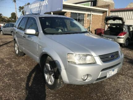 2005 Ford Territory SX Ghia (RWD) Silver 4 Speed Auto Seq Sportshift Wagon South Geelong Geelong City Preview