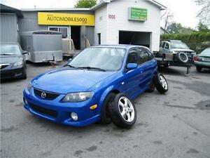 2003 Mazda Protege5 ES  ... 120 500 KM 8 PNEUS 8 ROUES ( MAGS )