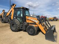 2019 Case 580SN WT Loader Backhoe - blow out pricing