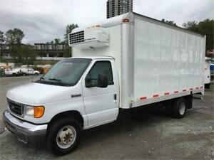 2007 FORD E450 16FT REEFER TRUCK **ONLY 167K** GREAT PRICE