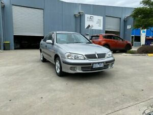 2003 Nissan Pulsar N16 LX Silver 4 Speed Automatic Sedan Newport Hobsons Bay Area Preview