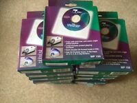 17 boxes of soft lined CD/DVD sleeves
