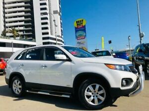 2012 Kia Sorento XM Si Wagon 7st 5dr Man 6sp 4WD 2.2DT [MY12] White Manual Wagon Liverpool Liverpool Area Preview