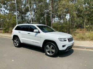 2014 Jeep Grand Cherokee WK Limited Wagon 4dr Spts Auto 5sp 4x4 3.6i White Sports Automatic Wagon Arncliffe Rockdale Area Preview