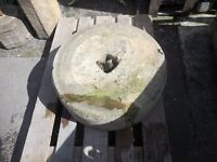 STONE MILL WHEEL ORIGINAL