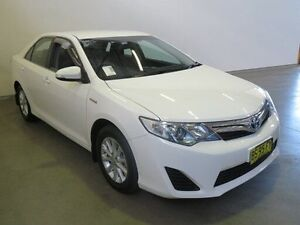 2012 Toyota Camry AVV50R Hybrid H Diamond White Continuous Variable Sedan Westdale Tamworth City Preview