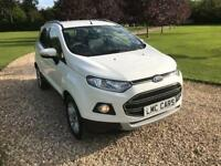 2015 (15) Ford EcoSport 1.5 Ti-VCT ( 112ps ) Titanium ONLY 15,000 MILES