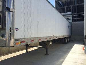 2000 Tri Axle Reefer 53' Utility Trailer