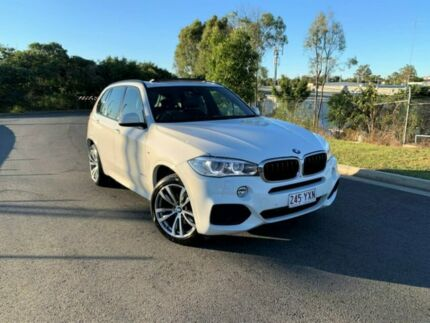 2014 BMW X5 F15 xDrive35i White 8 Speed Sports Automatic Wagon Darra Brisbane South West Preview
