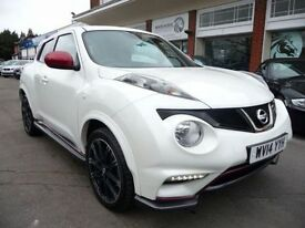 NISSAN JUKE 1.6 NISMO DIG-T 5d 200 BHP STUNNING CAR! LOW MILES (white) 2014
