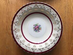 Antique English porcelain dining set by Myott (45 pieces)