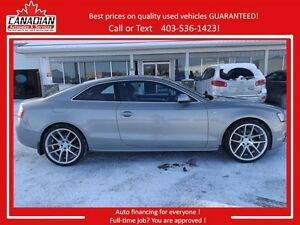 2010 Audi A5 2.0L S Line 2 set of RIMS REDUCED LOADED