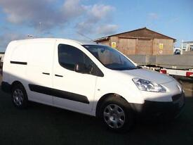 Peugeot Partner L2 716 S 1.6 HDI 92 BHP CREW VAN DIESEL MANUAL WHITE (2013)
