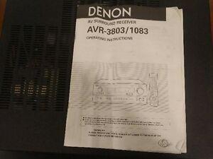 Denon AV-3803 Surround Receiver Peterborough Peterborough Area image 2