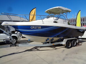 2005 Cruise Craft (American Seahawk 230 Flex Fishing Boat) Enfield Port Adelaide Area Preview