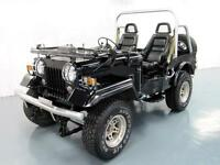 MITSUBISHI JEEP J53 WILLYS 2.7 DIESEL 4X4 SOFT TOP ON OFF ROAD * LOW MILES