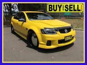 2011 Holden Commodore VE II SV6 Yellow 6 Speed Automatic Sedan Lansvale Liverpool Area Preview