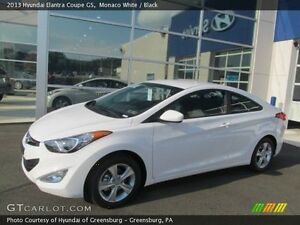 2013 Hyundai Elantra Coupe (2 door)