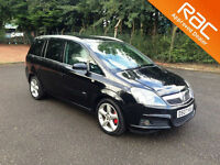 2007.07.VAUXHALL ZAFIRA.1.8 SRI.XP.BLACK.SEVEN SEATS.