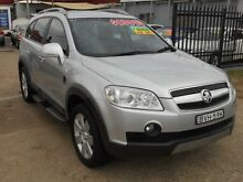2011 Holden Captiva CG Series II 7 LX (4x4) Silver 6 Speed Automatic Wagon Holroyd Parramatta Area Preview