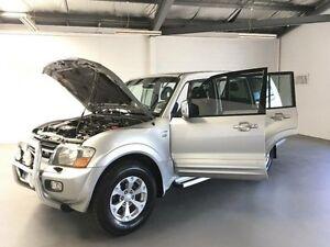 2000 Mitsubishi Pajero NM Exceed LWB (4x4) Silver 5 Speed Auto Sports Mode Wagon Frankston Frankston Area Preview