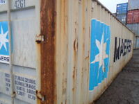 Shipping Container 40' HC $2,050 (5 or more only)