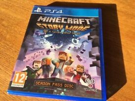 PS4 Game - Minecraft Story Mode