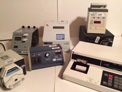 Laboratory Equipment Bio Rad Wescor Pharmacia Manostat