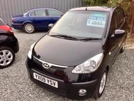 HYUNDAI I10 1.2 Comfort 5dr - Fantastic Condition - �30 Road Tax - Very Economical! (black) 2009