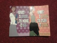Rosie Rushton 2 books What a week to make it big/What a week to play it cool Used books/gd condition