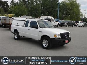 2011 FORD RANGER XL EXT CAB CANOPY 2.3L 4 CYLINDER