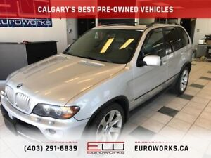 2005 BMW X5 4.8is CALGARY'S BEST PRE-OWNED VEHICLES.  Your De...