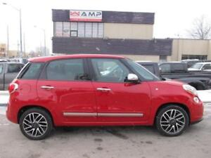 2014 FIAT 500L Lounge FWD leather DVD! We Approve All Credit