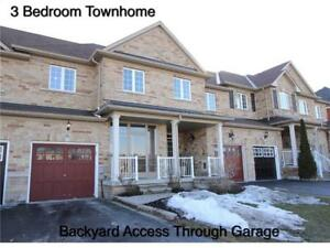 Gorgeous Freehold Townhome W/ Attached Garage At Eastfield Cres