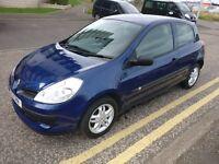 05 Renault Clio 1.2 petrol full year mot £1250